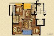 长峙岛・香芸园3室2厅2卫105平方米户型图