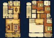 海星御和园3室2厅4卫255平方米户型图