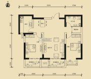 九星国际e世界2室2厅1卫94平方米户型图