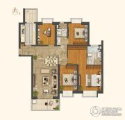 世茂外滩新城4室2厅2卫173平方米户型图