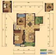 弘阳广场3室2厅1卫101平方米户型图