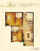 玺源台2室1厅2卫111平方米户型图