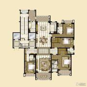 雅居乐・星河湾4室3厅4卫316平方米户型图