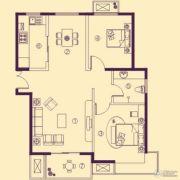 阳光花苑2室2厅1卫99平方米户型图