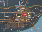 金桥庭院交通图