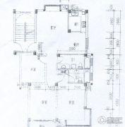 水岸帝景 高层3室2厅2卫111平方米户型图