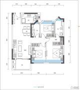 尚�Z瑞府3室2厅0卫102--105平方米户型图