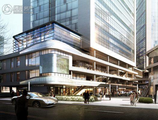 河南文化大厦效果图