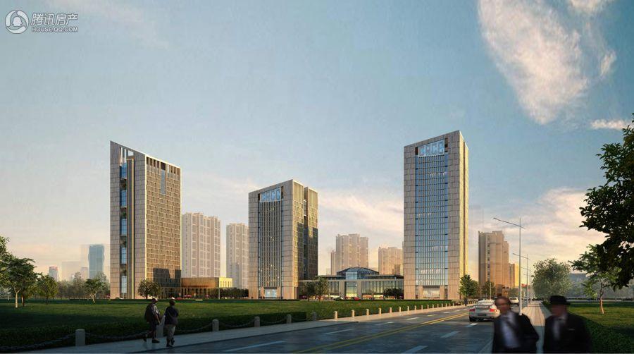 中国铁建国际中心 效果图