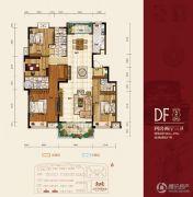 华府・伊顿庄园4室2厅3卫163--170平方米户型图