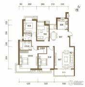 颐和城4室2厅4卫143平方米户型图