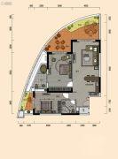巽寮湾・幸福方舟2室2厅2卫149平方米户型图