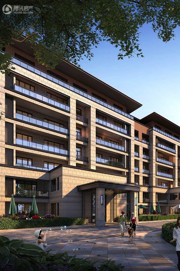 项目住宅单体透视图