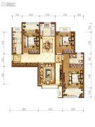 拉克雷公馆4室2厅2卫131平方米户型图