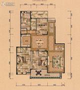 裕通花园4室2厅3卫286--293平方米户型图