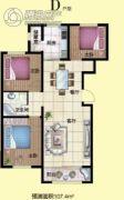 月湖名邸3室2厅1卫0平方米户型图