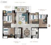 德润花园4室2厅2卫92--96平方米户型图