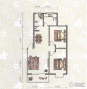 东苑小区2室2厅1卫90平方米户型图