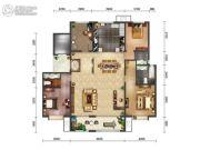 绿地・海珀天沅3室2厅2卫190平方米户型图
