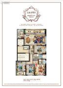 百悦城4室2厅2卫138平方米户型图