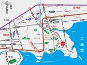 新力蓝湾交通图