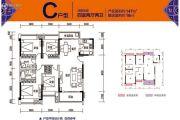 碧桂园海昌天澜4室2厅2卫147平方米户型图