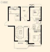 星颐广场3室2厅1卫103平方米户型图