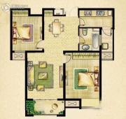 海门中南世纪城2室2厅1卫0平方米户型图