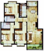 世纪佳苑3室2厅2卫0平方米户型图