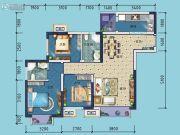 金科东方雅郡3室2厅2卫92平方米户型图
