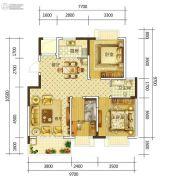 康平家园康平福邸3室2厅1卫106平方米户型图
