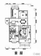 世外桃苑三期1室3厅1卫214平方米户型图