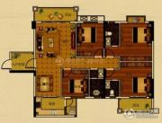 世纪金郡4室2厅3卫143平方米户型图