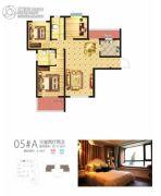 启迪国际城・逸居3室2厅2卫0平方米户型图