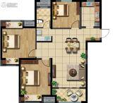 玉潭花溪3室2厅1卫0平方米户型图