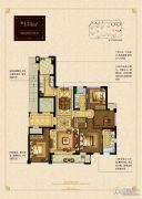大发・凯旋门4室2厅2卫134平方米户型图