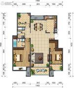 玉潭花溪2室2厅1卫0平方米户型图