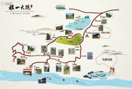 二炮清河大院社区地图