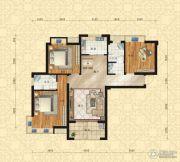东方今典中央城3室2厅2卫130平方米户型图