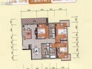 永衡云�X3室2厅2卫111--134平方米户型图