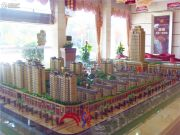 北部湾国际建材商贸城沙盘图