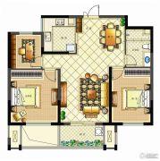 佳源广场3室2厅1卫93平方米户型图