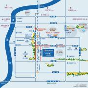复地浦江中心交通图