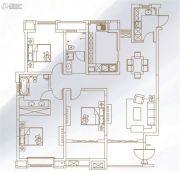 万科・城市之光3室2厅2卫157平方米户型图