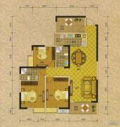 阳光蓝山郡三期3室2厅2卫0平方米户型图