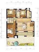 苏宁绿谷庄园3室2厅2卫139--140平方米户型图