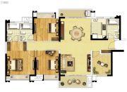 融创御府3室2厅3卫0平方米户型图