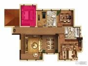 中大城4室2厅2卫178平方米户型图