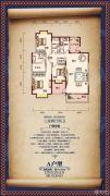 程力・水岸国际3室2厅2卫154平方米户型图