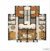 万科半山半海2室2厅1卫95平方米户型图